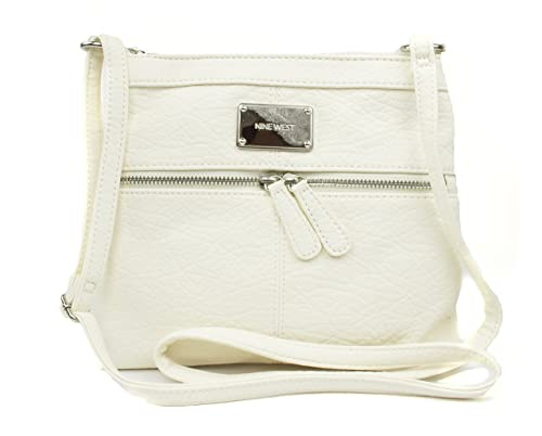 4a00650dc298 Nine West Encino Small Crossbody, Color New Ivory: Handbags: Amazon.com