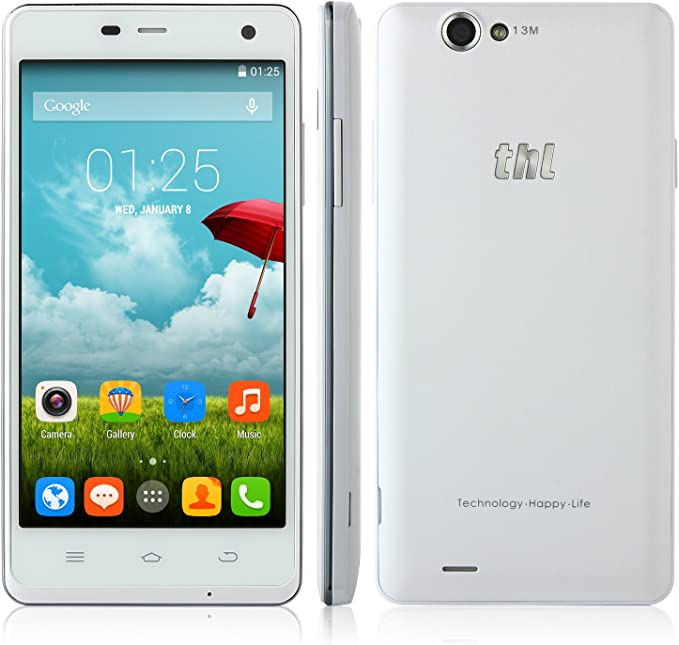 THL 5000 - Smartphone libre Android (pantalla 5