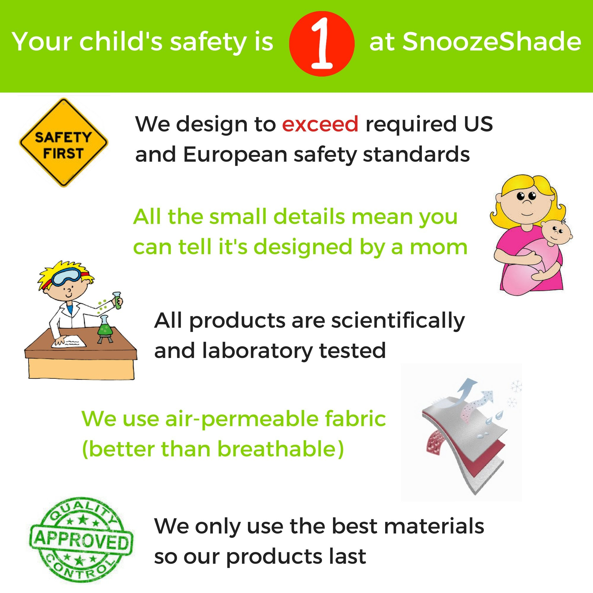 Double Stroller Cover & Sun Shade | Award-Winning Blackout Blind and Baby Sleep Aid | Stops 99% of The Sun's Rays | Lets Your Babies nap Safely Anywhere | Universal Fit | SnoozeShade Twin by SnoozeShade (Image #8)