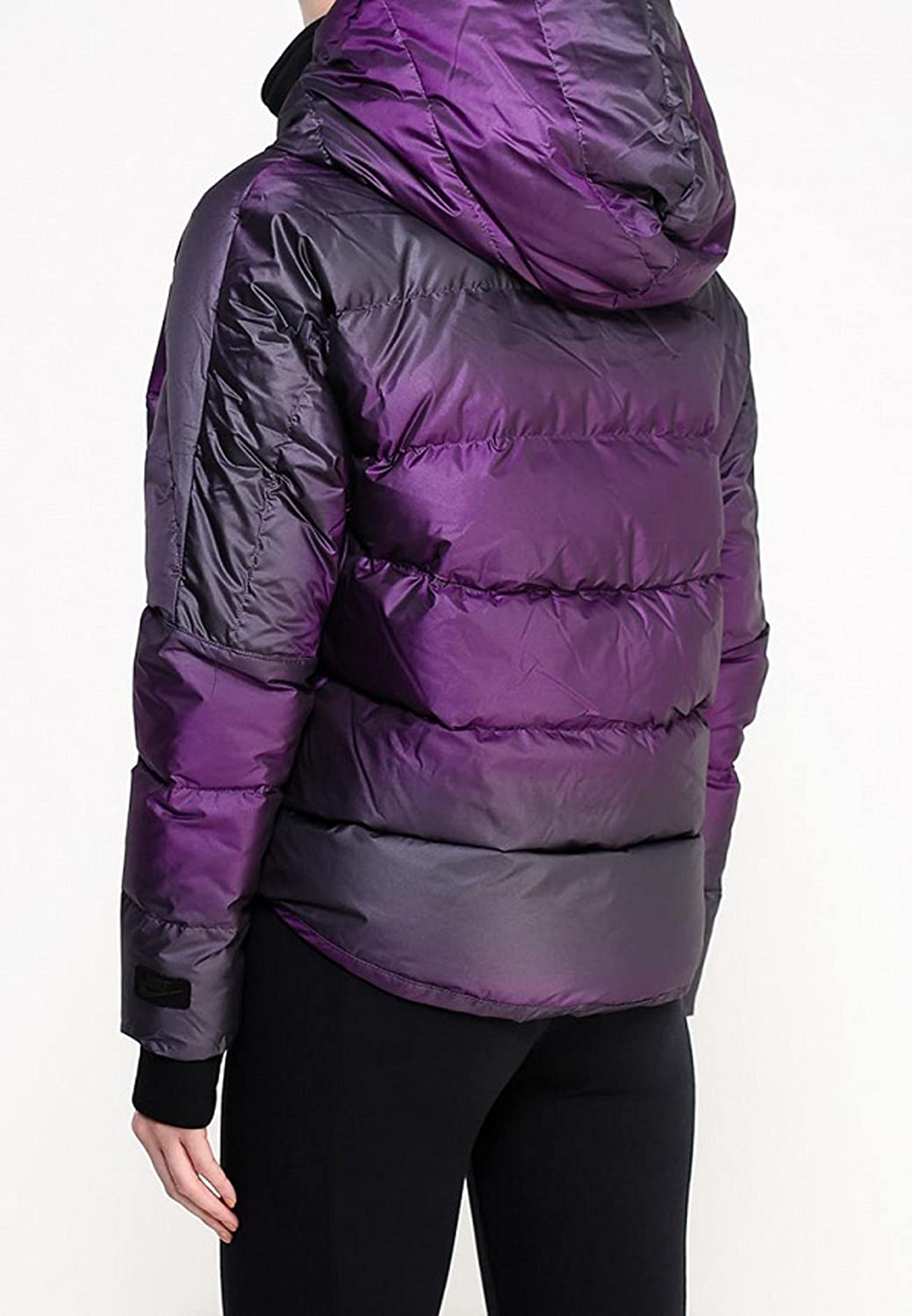 8ae0bd6d99af NIKE Women s UPTOWN 550 DOWN COCOON JACKET Purple (X-Large) at Amazon Women s  Coats Shop