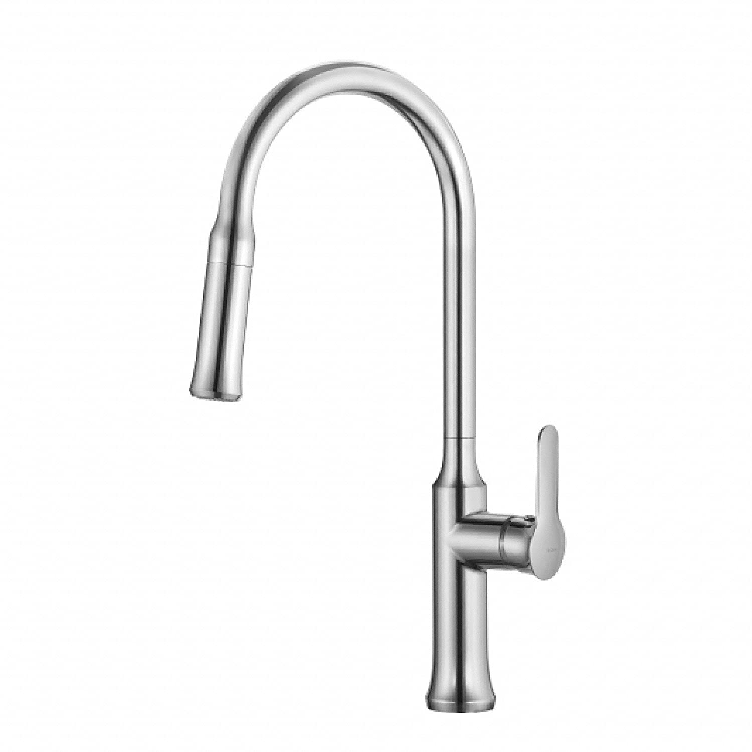 Kraus KPF 1630CH Nola Single Lever Pull Down Kitchen Faucet Chrome Finish      Amazon.com