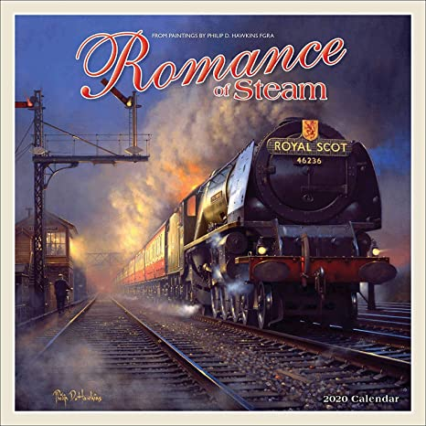 ROMANCE Calendario de Pared Cuadrado de la Marca of Steam ...