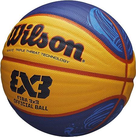 Wilson 3x3 Fiba Balon Baloncesto, Unisex Adulto, Amarillo, 6 ...
