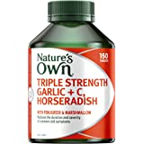 Nature's Own Triple Strength Garlic plus C, Horseradish - Supports immune system function - Traditionally used to…