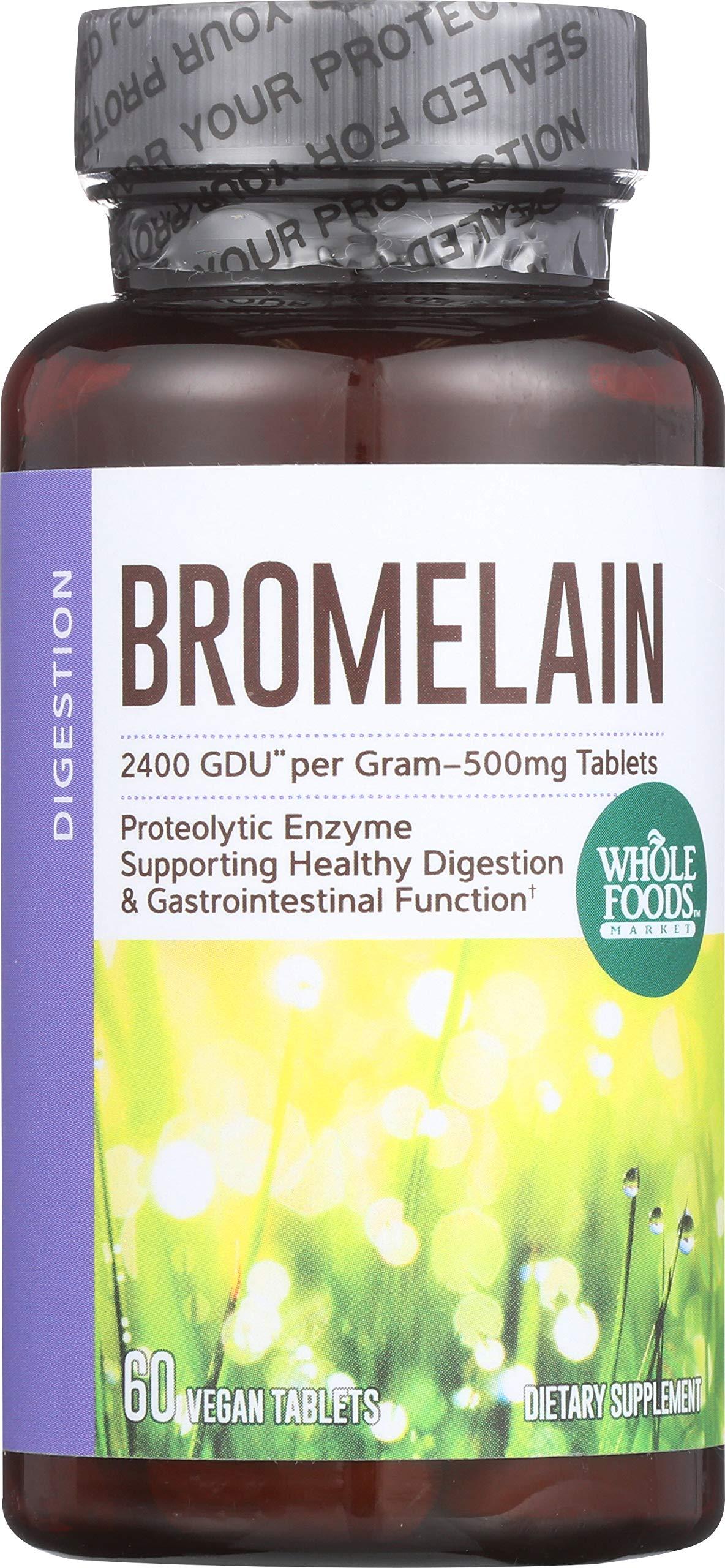 Whole Foods Market, Bromelain, 60 ct
