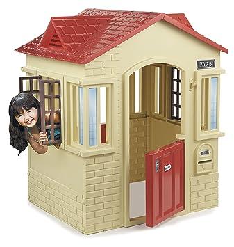 Magnificent Little Tikes Cape Cottage Tan Amazon Co Uk Toys Games Download Free Architecture Designs Saprecsunscenecom