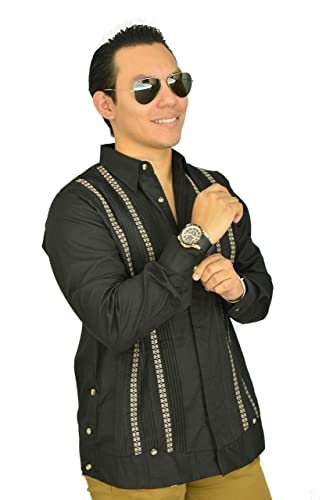 5f4b172cb7 Camisa Guayabera Yucateca Casual Lino Original cfkvikml13  Amazon ...