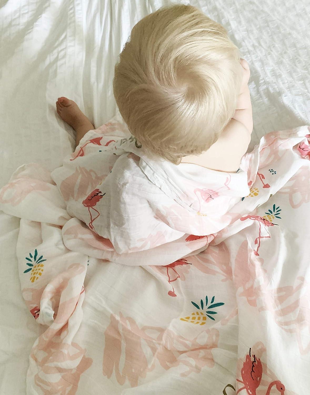 Bamboo Super Soft/&Absorbent Baby Shower Gift Bamboo Washcloths - 6pcs Baby Washcloths ORGANIC Face Towels MiniSteps Baby Washcloths 6pcs