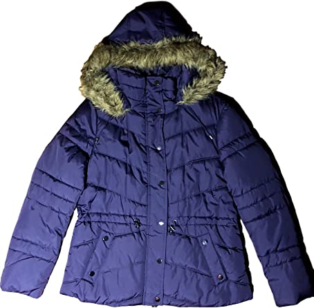 various styles outlet online great fit Marvin Richards Women's Drawstring Puffer Parka Large at Amazon ...