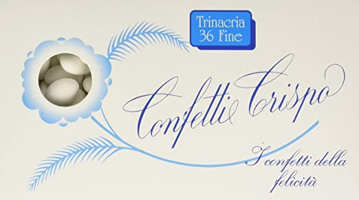 23 opinioni per Crispo Confetti Trinacria 36 Fine- Colore Bianco- 1 kg