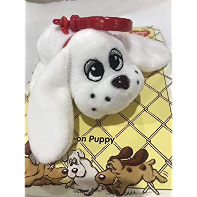 Discovery Kids Pound Puppies : Clip-on`s White: Toys & Games