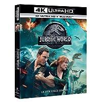 Jurassic World: Il Regno Distrutto (4K Ultra HD)  (2 Blu Ray)