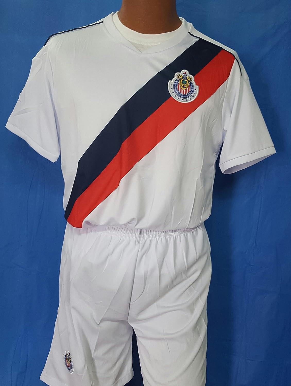 bc37d353b77bc 70%OFF New! Club Chivas De Guadalajara Home Short and Jersey 2 pc ...