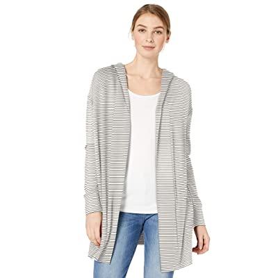 Brand - Daily Ritual Women's Supersoft Terry Hooded Open Sweatshirt: Clothing