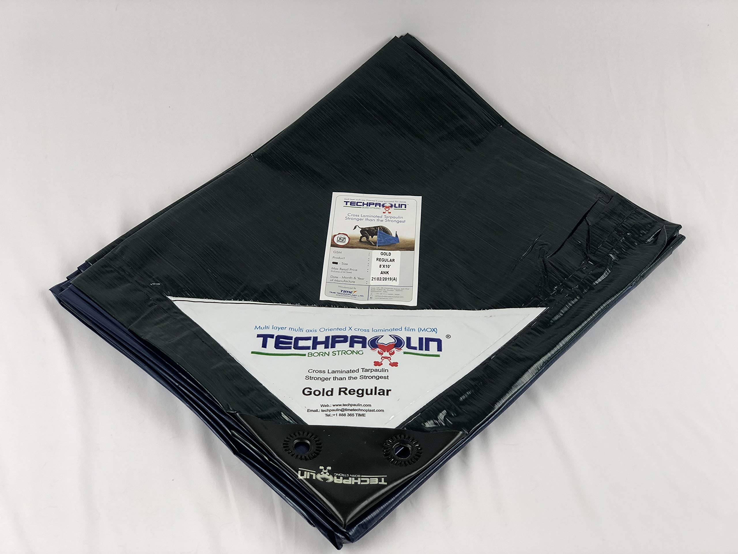 New Tarp Technology. 20x25 Heavy Duty Blue/Green. MOX Film Technology, Anti-Tear, Waterproof, Food Grade, Non-toxic, UV Resistant. Commercial Grade at fantastic price. The best tarp you will ever own! by Queen of Tarps