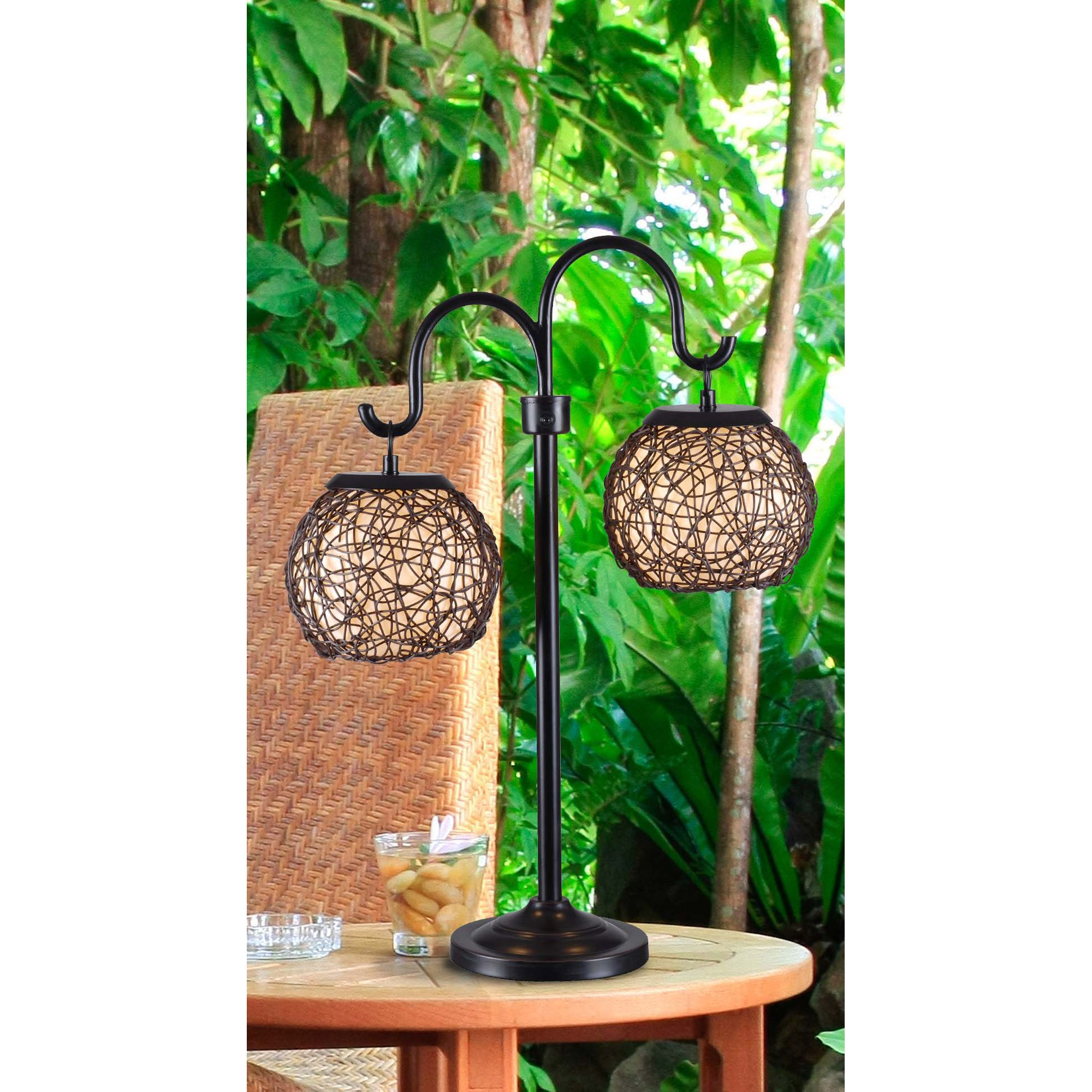 Kenroy Home 32245BRZ Castillo Outdoor Table Lamp, Bronze Finish by Kenroy Home (Image #2)