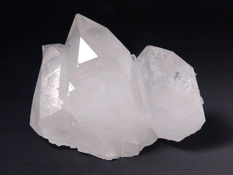 Astro Gallery Of Gems Gem Quartz Crystal Cluster from Brazil - 2. 25 LBS