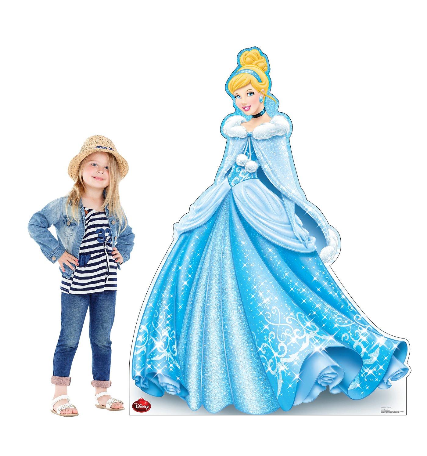 Amazon.com: Advanced Graphics Holiday Cinderella Life Size Cardboard ...