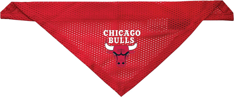 Littlearth Chicago Bulls Dog Cat Mesh Jersey Bandana L//XL