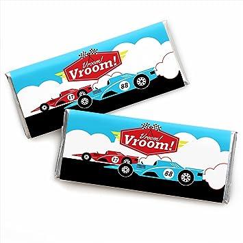 Amazon.com: Let s go Racing – Racecar – Baby Shower o coche ...