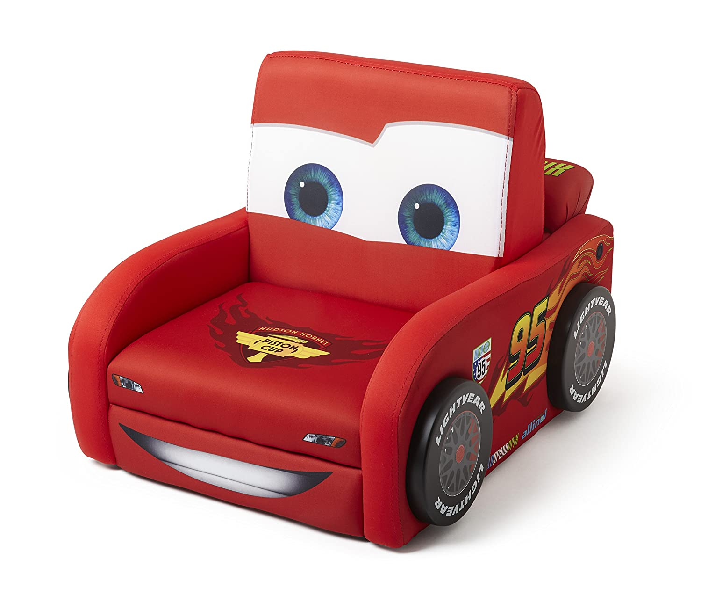 Elegant Amazon.com: Delta Children Deluxe Upholstered Chair, Disney/Pixar Cars: Baby