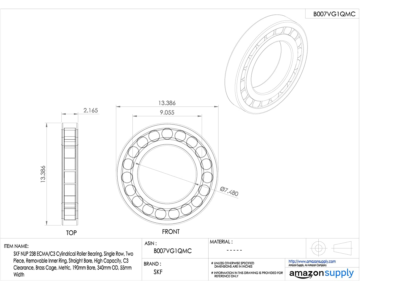 Case of 500 xSTC138-Case Bauxko 6 1//2 x 10 Open End Static Shielding Bags