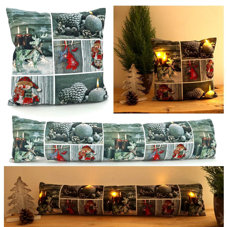 heimtexland® - Cojín y Burlete LED de iluminación de Navidad ...