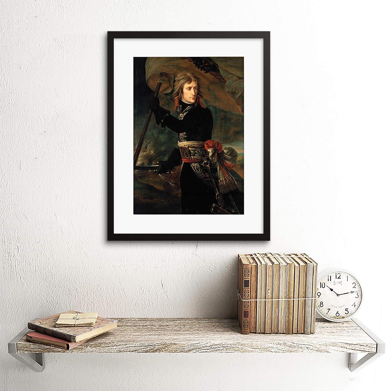 The Art Stop Painting Portrait Gros Napoleon Bonaparte ARCOLE Bridge Framed Print B12X3854