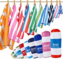 BOGI Microfiber Travel Sports Towel-(Size: S M L XL)-Dry Fast Soft Lightweight Absorbent&Ultra Compact-Perfect for...