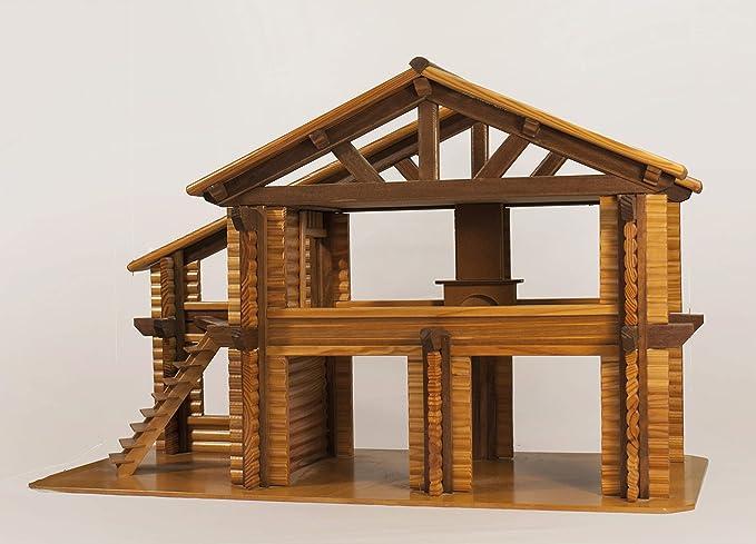 Amazon.es: Casa Granja rústica de Madera: Juguetes y juegos