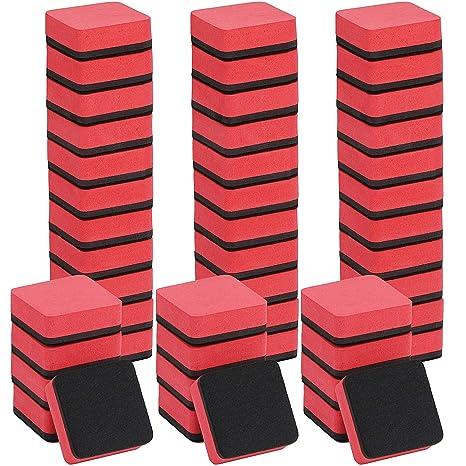 Gomas de borrar magnéticas para pizarra blanca, 48 unidades ...