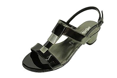 Sandalo Melluso Donna NERO 35