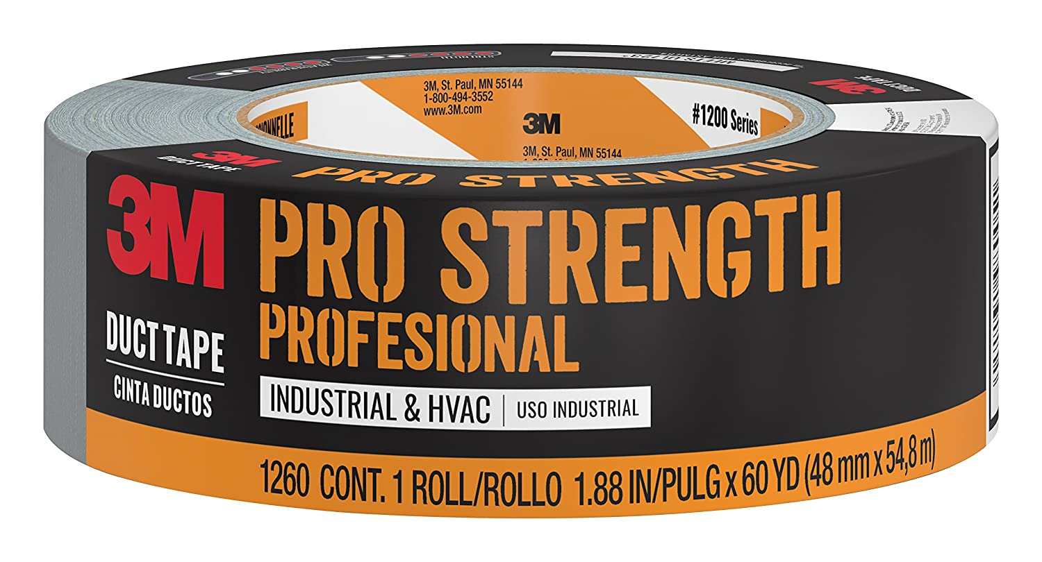 1260-A 3M  Pro Strength Duct Tape 1.88  Inches by 60 Yards