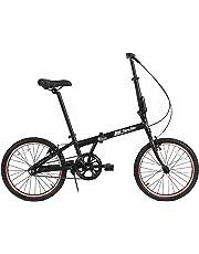 """FabricBike Folding Pieghevole in Alluminio, 20"""", Bicicletta Single Speed, 3 Colori"""