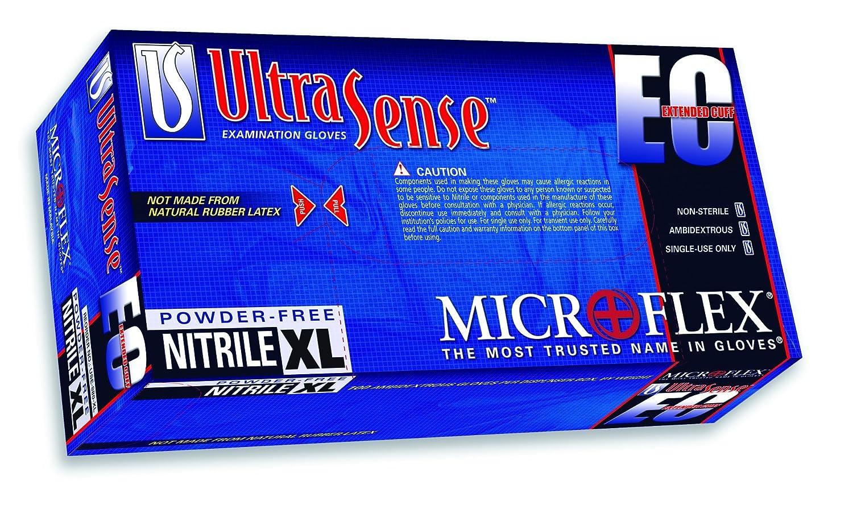 Amazon.com: Microflex use-880-xxl Ultra sentido CE, guantes ...