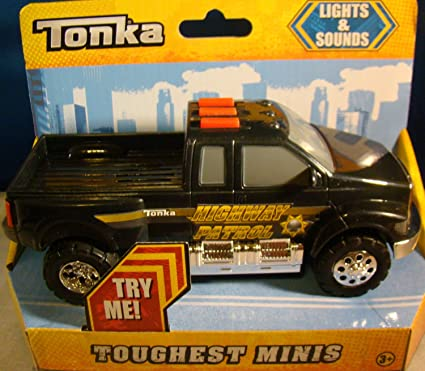 Amazon Com Tonka Toughest Minis Lights Sounds Highway Patrol