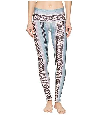 0f4eec66ae Teeki Border Towns Blue Hot Pant Leggings at Amazon Women's Clothing ...