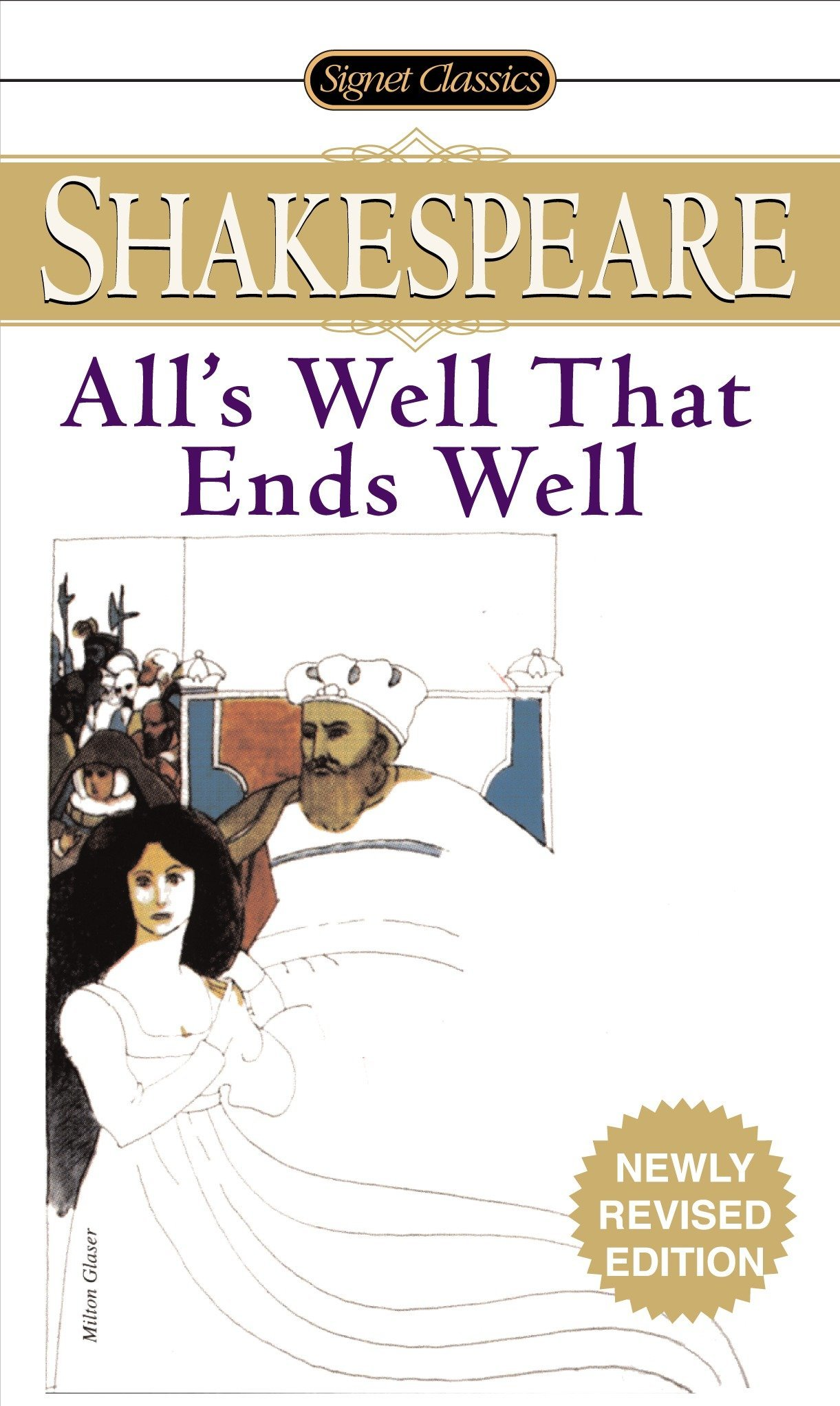 Alls Well That Ends Well Signet Classic Shakespeare