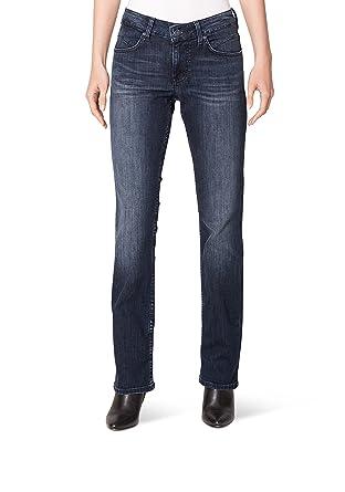 Mustang Damen Straight Jeans Sissy, Blau (Dark 882), W26 L32  Amazon ... a25a1340e0