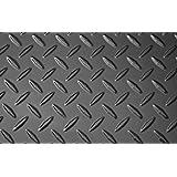 "Amazon.com : Chrome Diamond Plate Plastic Sheet 24"" x 48"