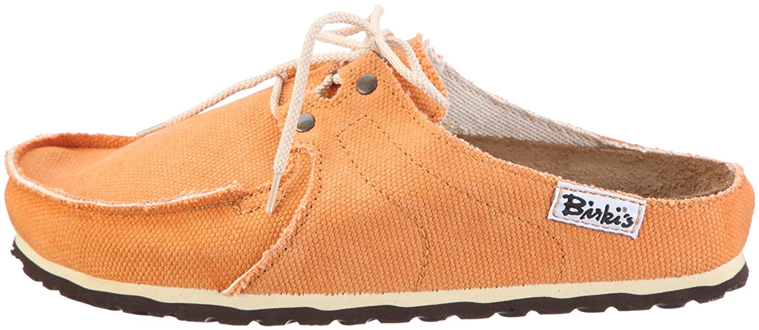 Birki SUPER SKIPPER Orange 197213, Unisex - Erwachsene Clogs & Pantoletten, Orange (SUPER SKIPPER Orange), EU 35