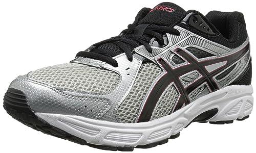 Asics Gel-Contend 2 Hombre Gris Claro Deportivas Zapatos Talla EU 44,5: Amazon.es: Zapatos y complementos