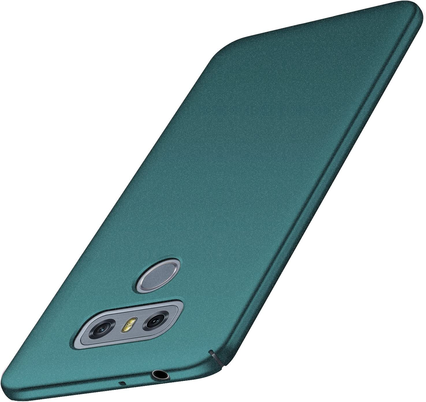 Tianyd LG G6 Case, [Ultra-Thin] Materials Ultra-Thin Protective Cover for LG G6 (Gravel Green)