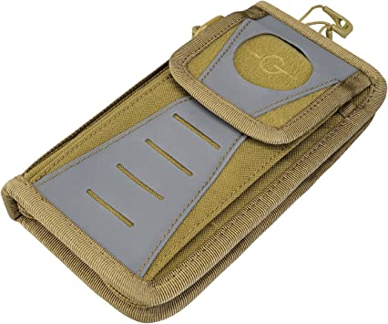 Mens Fashion portable EDC travel wallet,Tactical/_Geek BlockD 8G military Tactical Wallet|Womens EDC Wallet|Multifunctional Urban Wallet for storage mobile,money and cards BK 8G