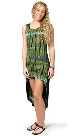 0dd7ca6243 TCG Women s Tie-Dye 2.0 High-Low Dress - Green-Multi at Amazon ...
