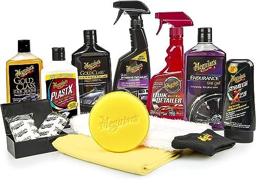MEGUIAR'S G55032SP Complete Car Care Kit