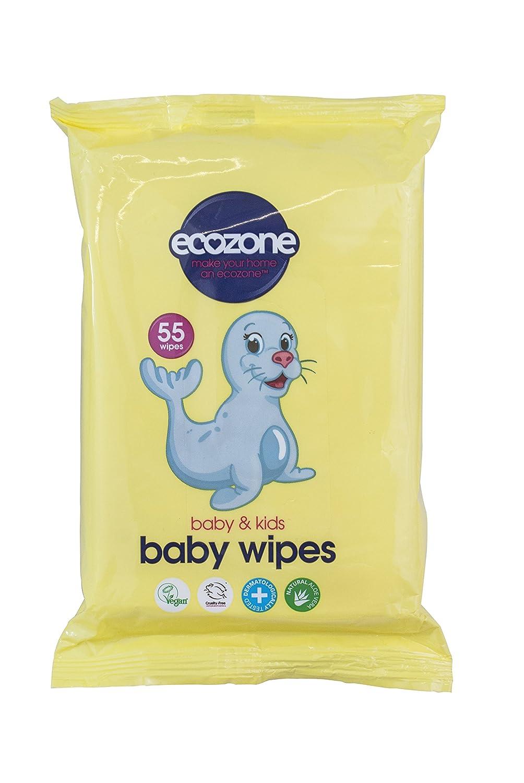 Ecozone orgánicos toallitas para bebé, pack de 8, total 440 toallitas: Amazon.es: Bebé