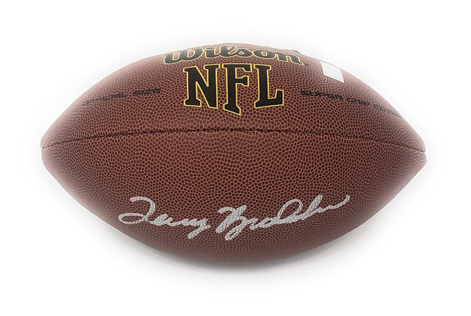 Terry Bradshaw Pittsburgh Steelers Signed Autograph NFL Football Bradshaw GTSM Player Hologram