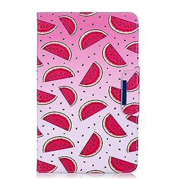 HereMore Funda Samsung Galaxy Tab A 10.1 SM-T580 T585, Smart Case Cubierta de Protectora Carcasa con Auto-Sueño/Estelar y Ranuras para Tarjetas para ...