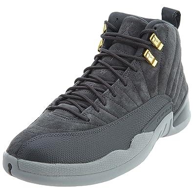 100% authentic 89cfb 3a16a Nike Air Jordan 12 Retro 'Dark Grey' - 130690-005 Grey Size ...